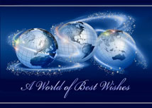 World of Best Wishes Business Holiday Cards